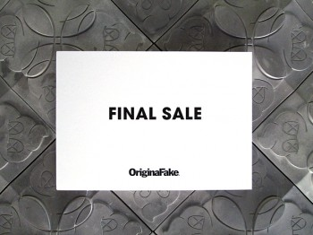 OriginalFakeFINAL SALE