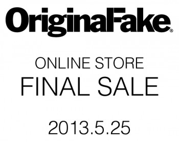 OriginalFake ONLINE STORE/FINAL SALE