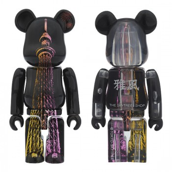 TOKYO SKYTREE® BE@RBRICK LIGHT UP VERSION 雅風
