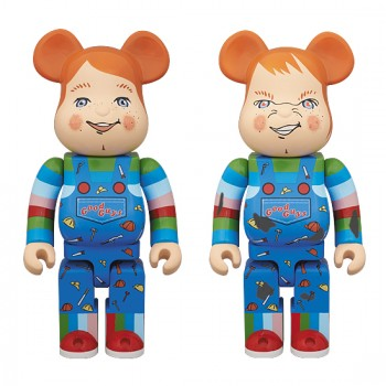 BE@RBRICK 400% GOOD GUY / CHUCKY
