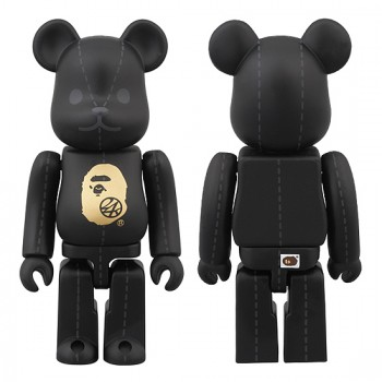 A BATHING APE® × 24karats BE@RBRICK