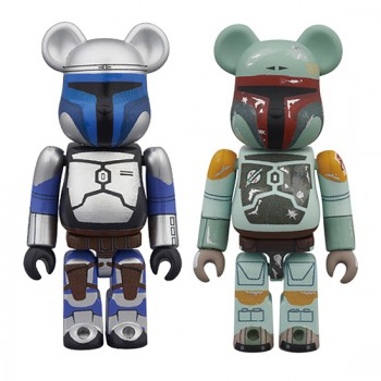 BE@RBRICK STAR WARS(TM) 2 PACK JANGO FETT(TM) & BOBA FETT(TM)
