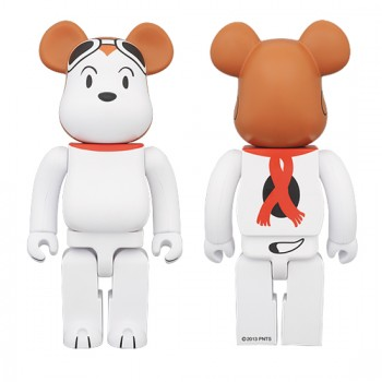 BE@RBRICK SNOOPY FLYING ACE 400%