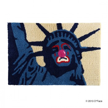 "RAG MAT ""SAD LIBERTY"""