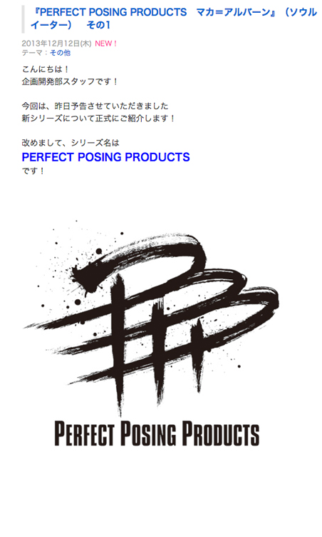 PERFECT POSING PRODUCTS