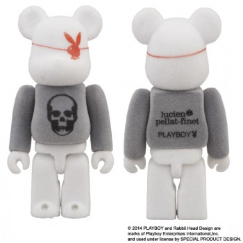 BE@RBRICK PLAYBOY  x lucien pellat-finet