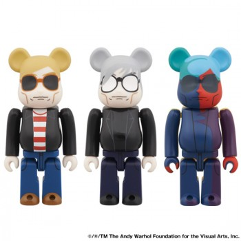 BE@RBRICK アンディ・ウォーホル 60's STYLE Ver./80's STYLE Ver./SILKSCREEN Ver.