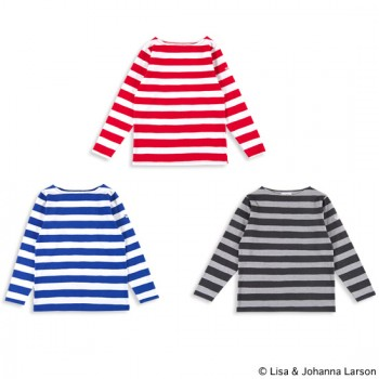 """L/S BORDER TEE """"MIKEY"""""""