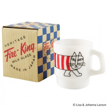 "Fire-King STACKING MUG ""MIKEY"""