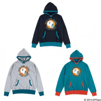 "PULLOVER HOODED ""MIAMI CHAMPS"""