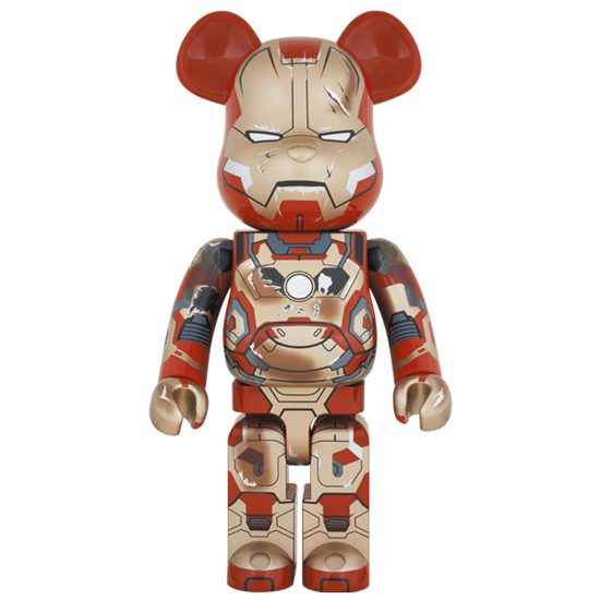 BE@RBRICK IRON MAN MARK XLII(42) DAMAGE Ver. 1000%