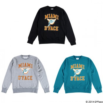 "CREW NECK SWEAT ""MIAMI COLLEGE"""