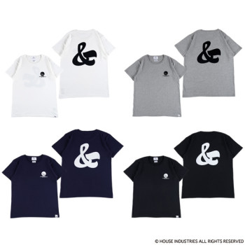"HOUSE INDUSTRIES - TEE ""AMPERSAND"""