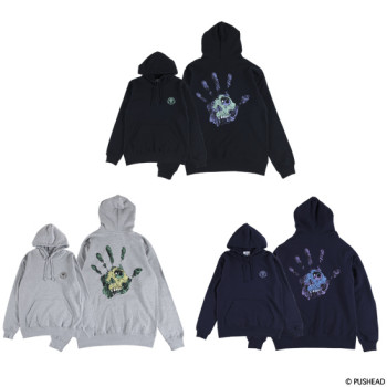 """PUSHEAD - PULLOVER HOODED """"HAND OF FEAR"""""""