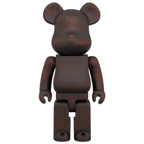 BE@RBRICK カリモク ROSEWOOD PAINT 400%