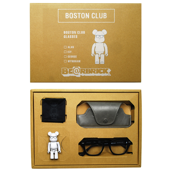 BE@RBRICK BOSTON CLUB 【眼鏡/サングラス+BE@RBRICK】