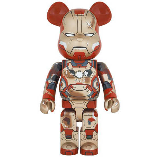 BE@RBRICK IRON MAN MARK XLII(42)DAMAGE Ver. 1000%