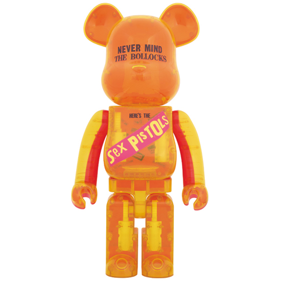 BE@RBRICK Sex Pistols Clear Ver.1000%