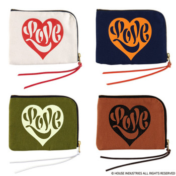 "POUCH SMALL ""LOVE"""