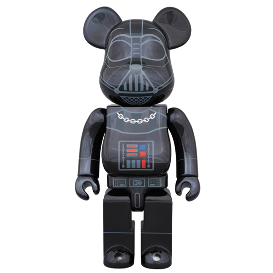 BE@RBRICK DARTH VADER(TM) CHROME Ver.400%