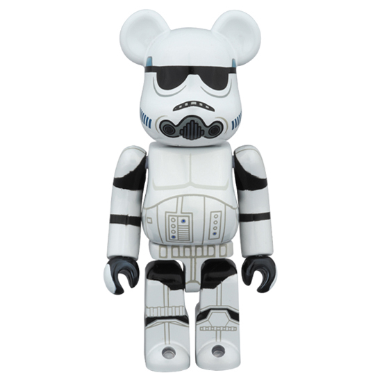 BE@RBRICK STORMTROOPER(TM) CHROME Ver.100%