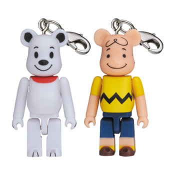 BE@RBRICK 50% SNOOPY / CHARLIE BROWN