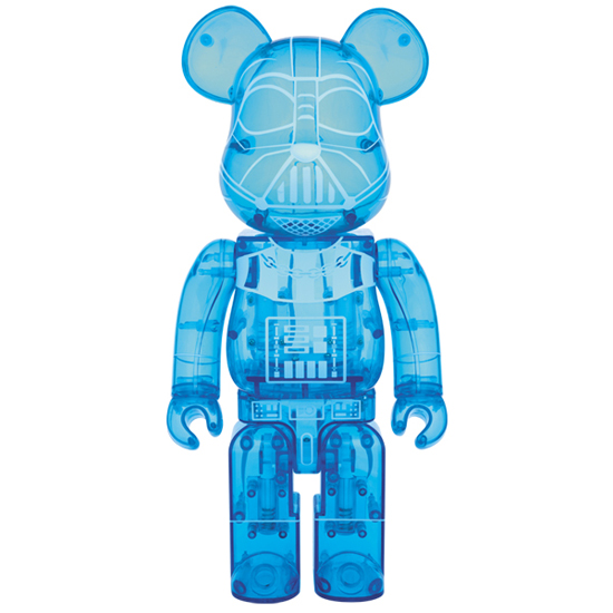 BE@RBRICK DARTH VADER(TM)HOLOGRAPHIC Ver.400%