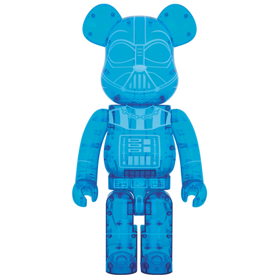 BE@RBRICK DARTH VADER(TM)HOLOGRAPHIC Ver.1000%