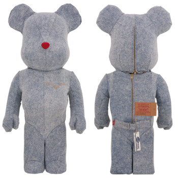 BE@RBRICK Levi's® WASH DENIM 1000%