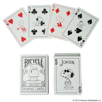 PEANUTS BICYCLE PLAYING CARDS