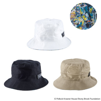 "REVERSIBLE BUCKET HAT ""JACKSON POLLOCK"""