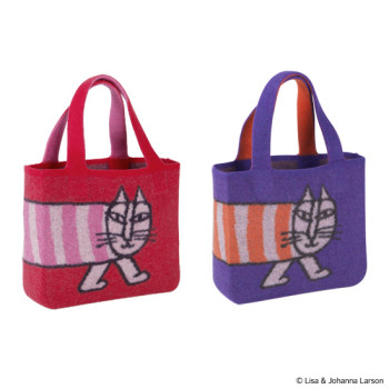 "WOOL TOTE BAG ""MIKEY"""