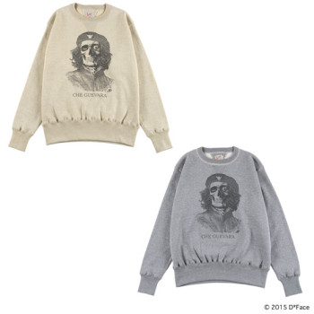 "CREW NECK SWEAT ""CHE"" × TOYS McCOY"