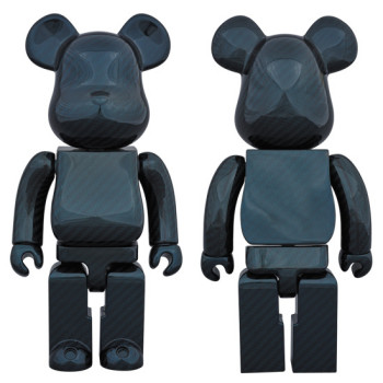 BE@RBRICK 400% DRY CARBON BLUE