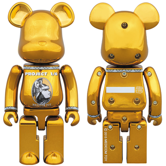 超合金 BE@RBRICK CENTURION (GOLD)