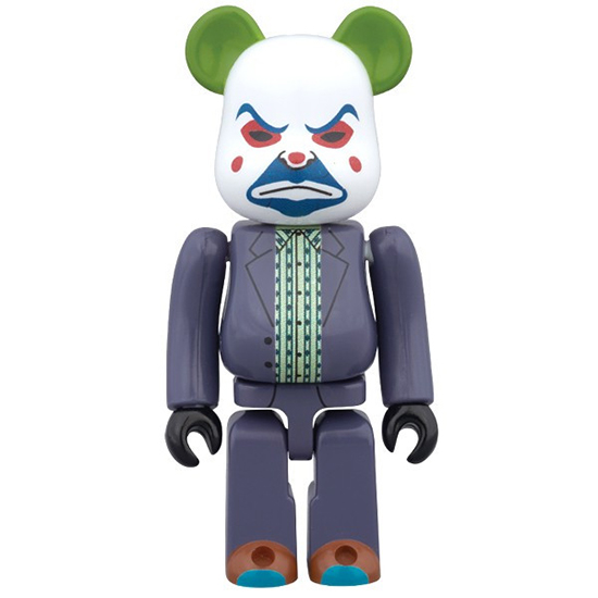 BE@RBRICK THE JOKER (BANK ROBBER Ver.) 100%
