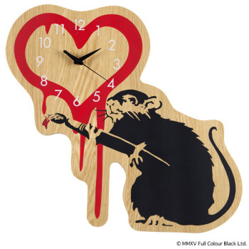 "WALL CLOCK ""LOVE RAT"" x KARIMOKU"