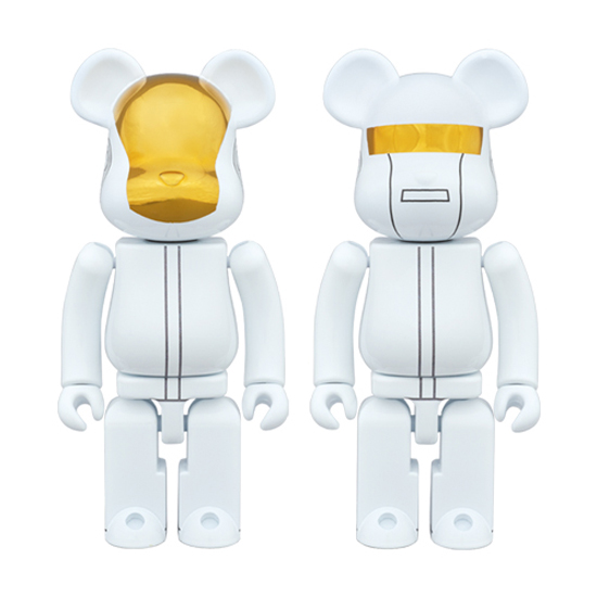 超合金 BE@RBRICK DAFT PUNK (WHITE SUITS Ver.) 2 PACK