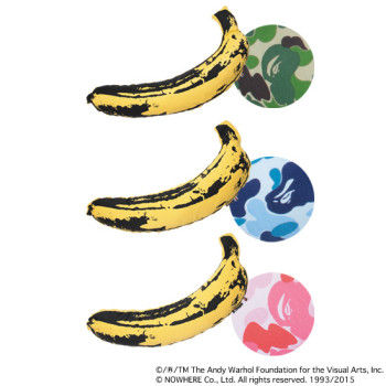 BAPE® × MEDICOM TOY LIFE Entertainment × Andy Warhol ABC BANANA