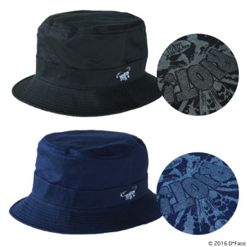 "REVERSIBLE BUCKET HAT ""RIOT"""