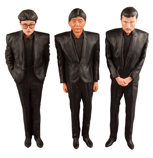 VCD Yellow Magic Orchestra 増殖人形3体セット