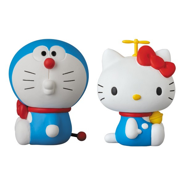 UDF DORAEMON meets HELLO KITTY DORAEMON × HELLO KITTY(2体セット)