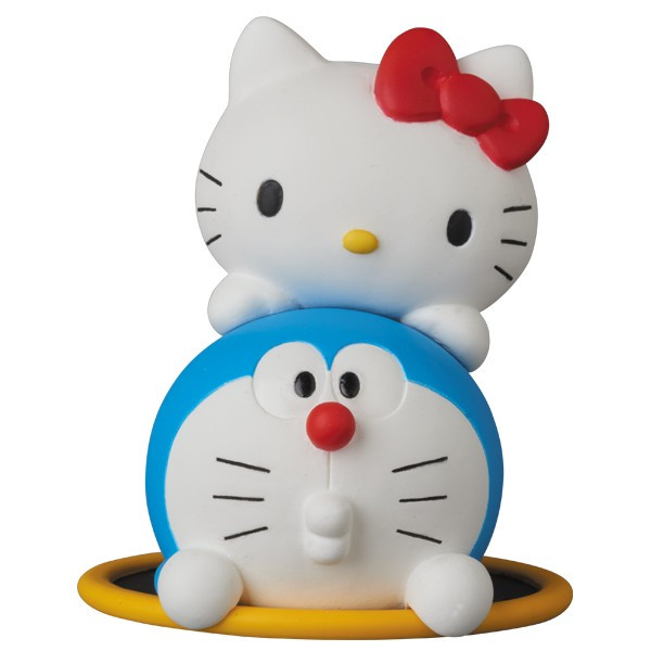 UDF DORAEMON meets HELLO KITTY DORAEMON × HELLO KITTY & 通り抜けフープ