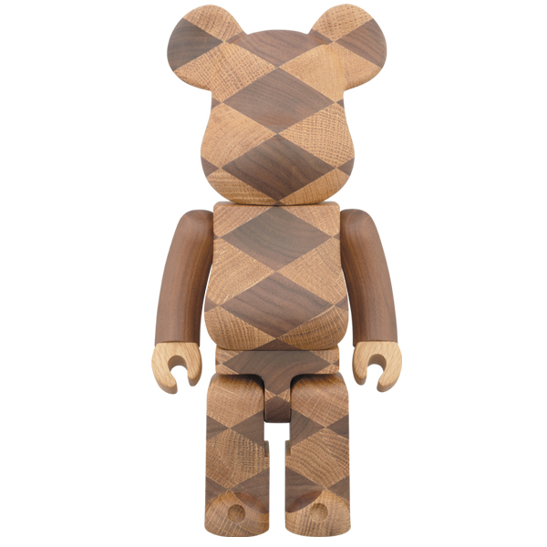 BE@RBRICK カリモク WOVEN 400%