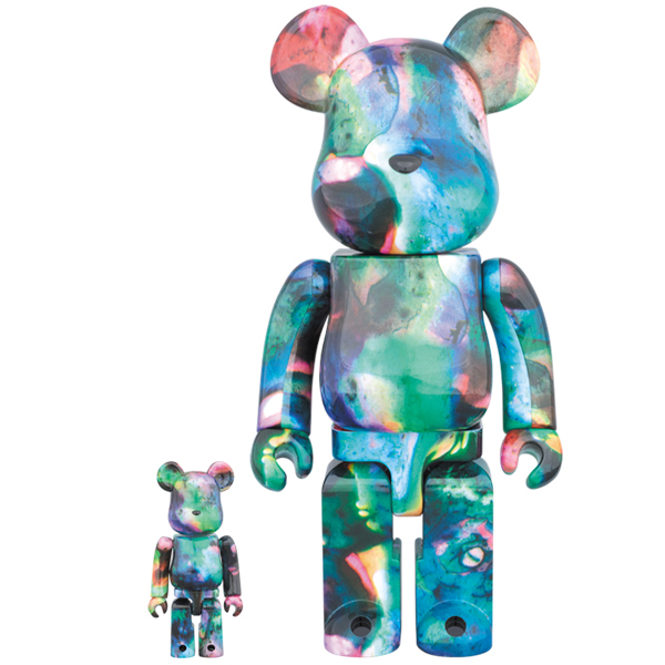 PUSHEAD BLUE WATER BE@RBRICK 100% & 400%