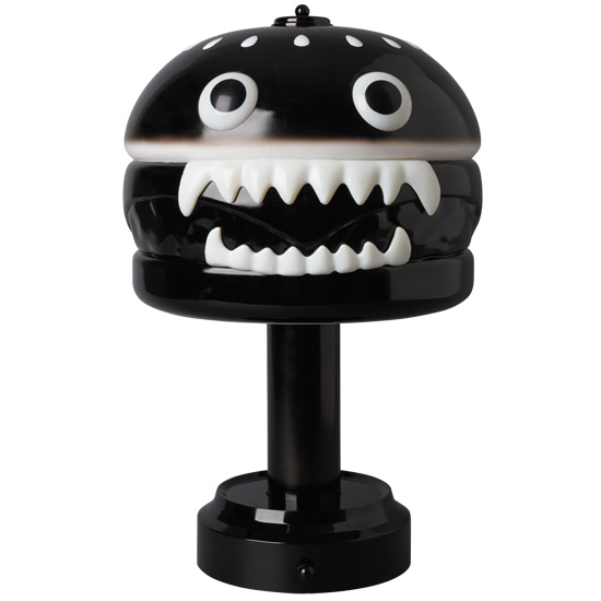 UNDERCOVER HAMBURGER LAMP BLACK