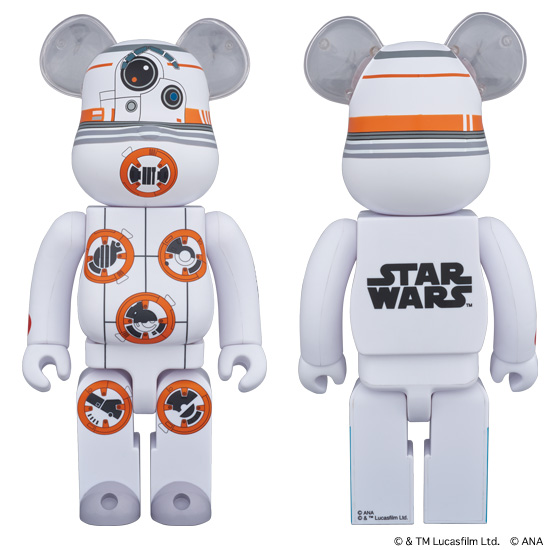 BE@RBRICK BB-8™ ANA JET 400%