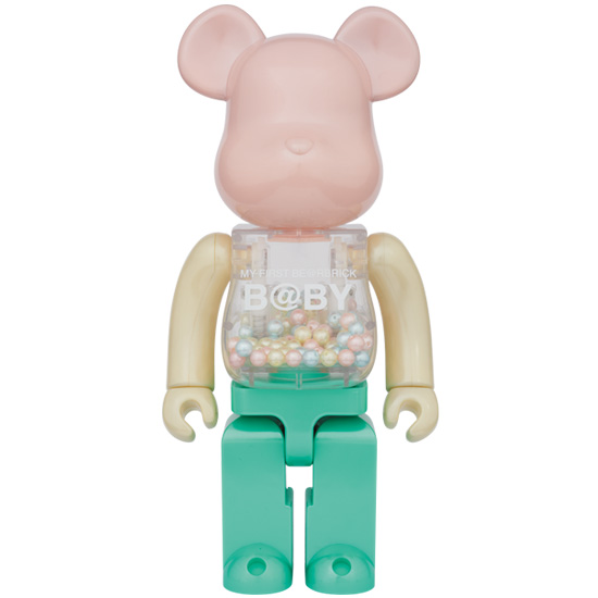 MY FIRST BE@RBRICK B@BY1st COLOR PEARL COATING Ver.400%