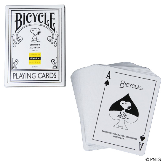 BICYLE PLAYING CARDS PEANUTS MUSEUM TOKYO