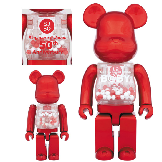 MY FIRST BE@RBRICK B@BY SJ50 100% & 400%